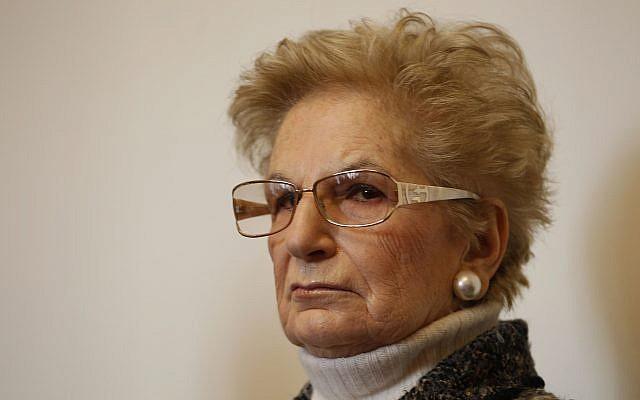 Italiana que sobrevivió a Auschwitz de niña recibe máxima condecoración