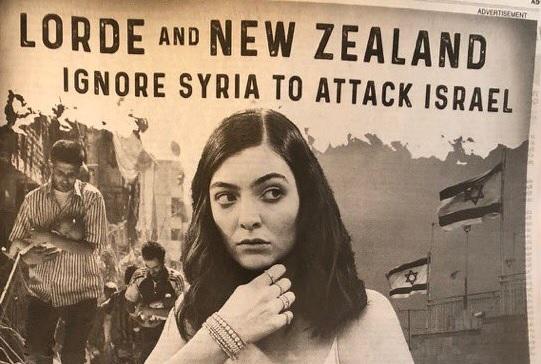Rabino Shmuley Boteach critica a Lorde por cancelar concierto en Israel