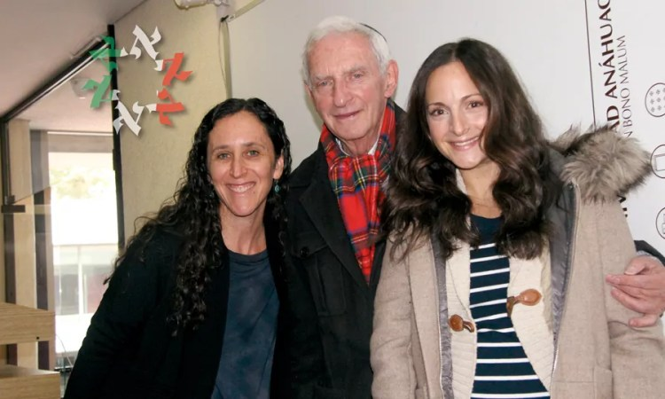 Luis Opatowski, sobreviviente del Holocausto, en la Universidad Anáhuac