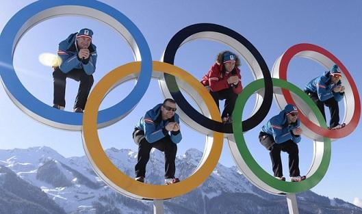 Deportistas judíos en los Juegos Olímpicos de Invierno
