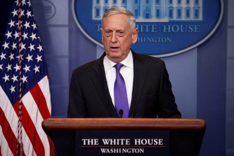 Apoya secretario de Defensa de EE.UU. derecho de Israel a defenderse