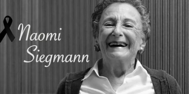 Fallece la escultora Naomi Siegmann