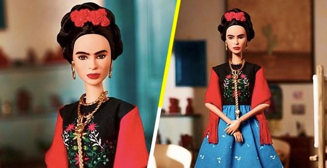 Pelean derechos de la barbie inspirada en Frida Kahlo