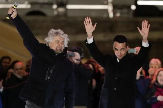 Populismo y antisistema triunfan en Italia