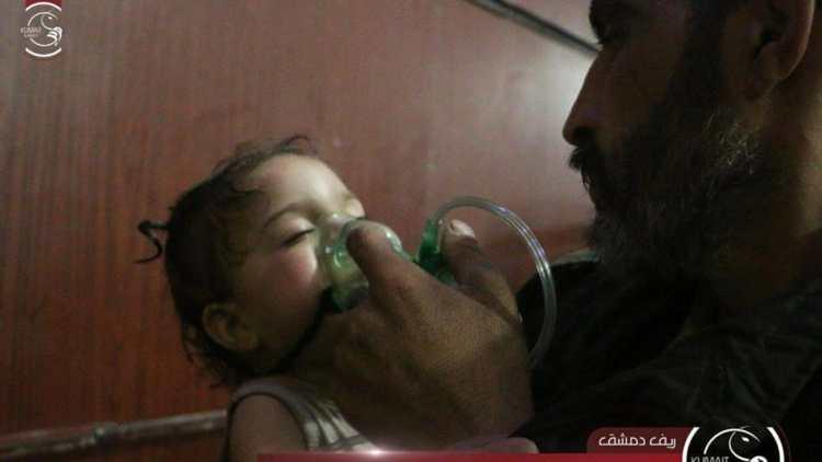 Decenas de muertos en otro ataque químico de las fuerzas de Assad