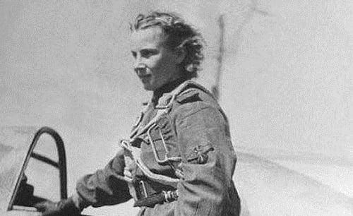 Lidia Litviak:  la Rosa Blanca de Stalingrado (que no era rosa)