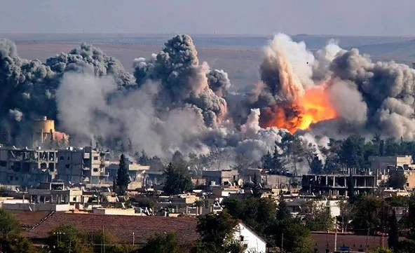 La escena siria