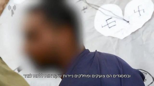 Palestino detenido por las FDI dice que Hamas usa a mujeres y niños como armas para mantenerse en el poder