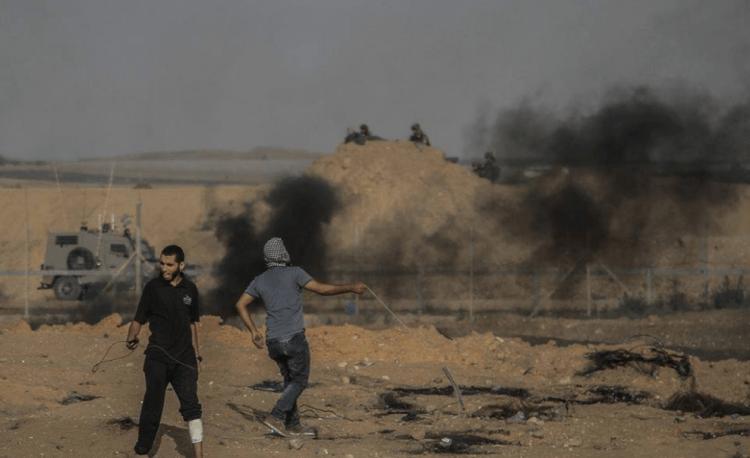 Con mucha menor intensidad, protestas continúan otro viernes en Gaza