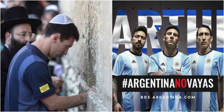 Argentina confirma fútbol amistoso el 9 de junio en Jerusalén