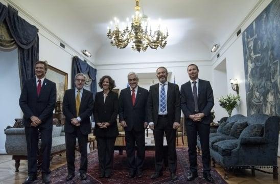 Autoridades de la Comunidad Judía de Chile se reunieron con el Presidente Sebastián Piñera