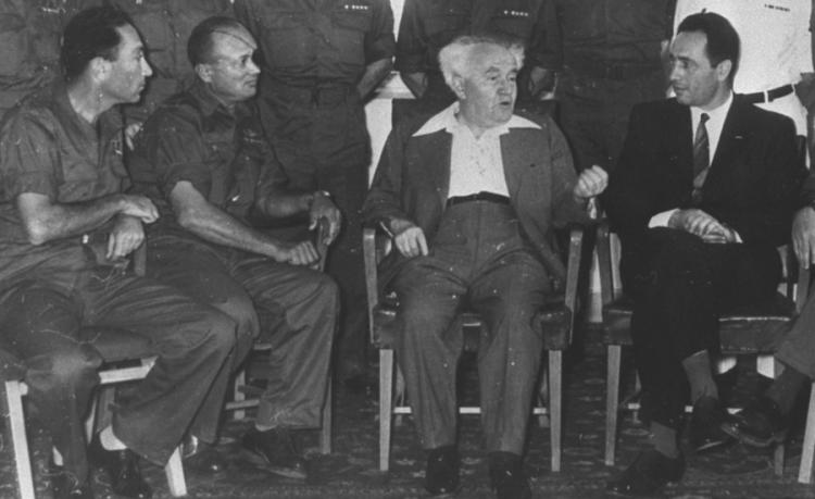 El primer y último partido de futbol de David Ben-Gurion