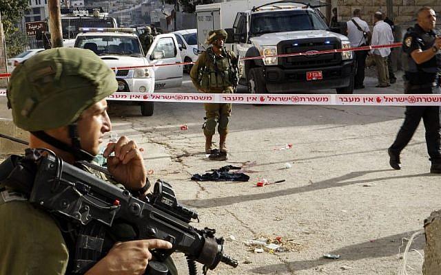 El ejército frustra intento de ataque vehicular en Hebrón