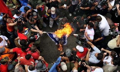 El antisemitismo en Venezuela es alimentado por dirigentes y medios chavistas