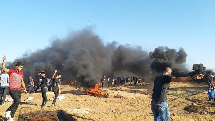 Tras escalada en Gaza, protestas palestinas continúan en la frontera
