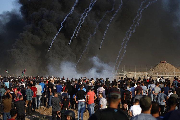 Protestas violentas en la Franja de Gaza dejan 3 muertos