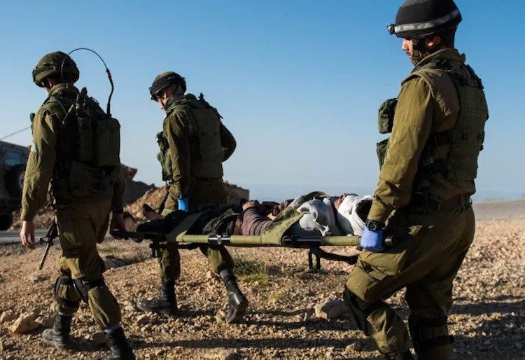 Israel termina ayuda humanitaria a refugiados sirios en la frontera norte