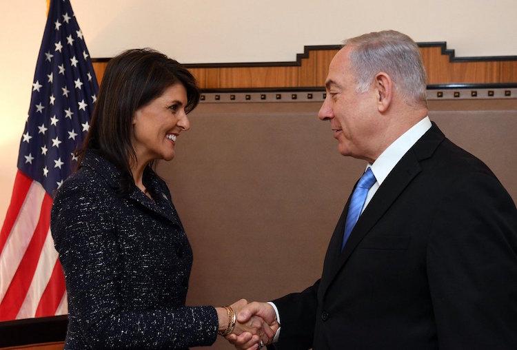 Netanyahu: Haley luchó a favor de la verdad y la justicia de Israel