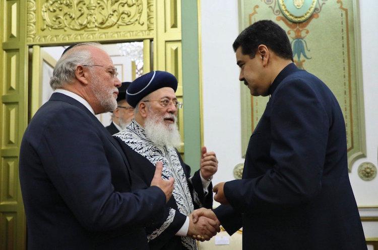 Risultati immagini per Shlomo Amar e Maduro immagini