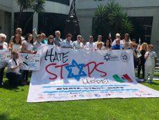 No al antisemitismo-México