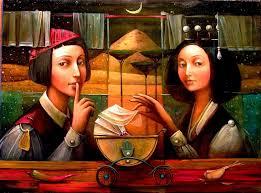 Boris shapiro - Pintor Judio Surreal - Arte - enlace judio - 1