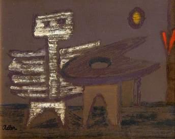 Adler, Jankel, 1895-1949; Composition