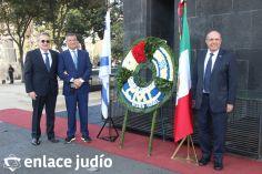 19-11-2019-OFRENDA EN EL MONUMENTO DE LA REVOLUCION POR PARTE DE LA CAMARA DE COMERCIO MEXICO ISRAEL 18