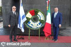 19-11-2019-OFRENDA EN EL MONUMENTO DE LA REVOLUCION POR PARTE DE LA CAMARA DE COMERCIO MEXICO ISRAEL 22