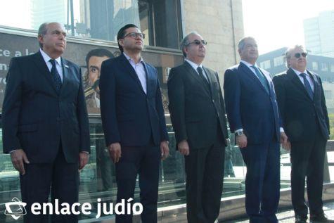 19-11-2019-OFRENDA EN EL MONUMENTO DE LA REVOLUCION POR PARTE DE LA CAMARA DE COMERCIO MEXICO ISRAEL 38