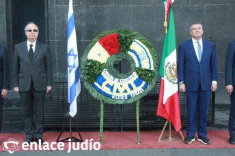19-11-2019-OFRENDA EN EL MONUMENTO DE LA REVOLUCION POR PARTE DE LA CAMARA DE COMERCIO MEXICO ISRAEL 65