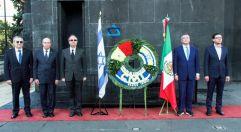 19-11-2019-OFRENDA EN EL MONUMENTO DE LA REVOLUCION POR PARTE DE LA CAMARA DE COMERCIO MEXICO ISRAEL 66