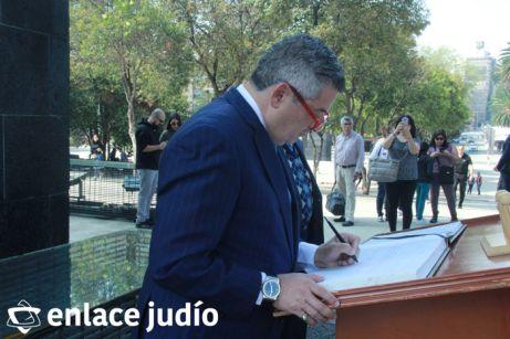 19-11-2019-OFRENDA EN EL MONUMENTO DE LA REVOLUCION POR PARTE DE LA CAMARA DE COMERCIO MEXICO ISRAEL 71