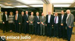 22-11-2019-CAMBIO DE PRESIDENTE COMISION INTERCOMUNITARIA DE HONOR Y JUSTICIA COMUNIDAD SEFARADI 1