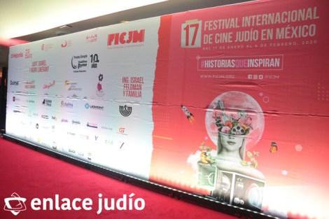 15-01-2020-ALFOMBRA ROJA DEL FESTIVAL INTERNACIONAL DE CINE JUDIO MEXICO 2