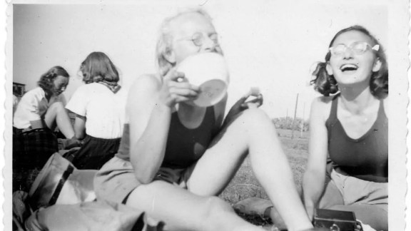 Imagenes inéditas del verano de 1941 Crédito: Anne Frank House