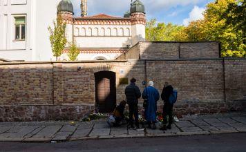 pistolero de sinagoga alemana