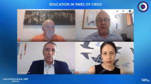 La Universidad ORT México, organizó el webcast global Education in Times of Crisis, realizado en el marco de la pandemia del Coronavirus COVID-19.