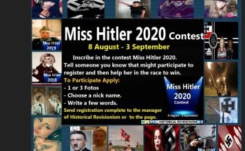 concurso miss hitler