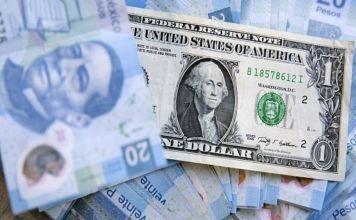 El peso se apreciaba este viernes junto con otras monedas de países emergentes debido a la debilidad del dólar y las tensiones entre EE.UU y China