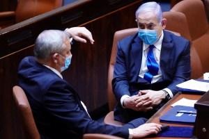 Benjamin Netanyahu y Benny Gantz acordaron formar un pequeño gabinete de seguridad que se encargará de abordar problemas de seguridad extra delicados