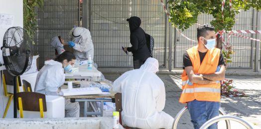 Registra Israel más de 10 mil casos activos de coronavirus por primera vez