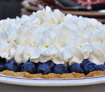 Receta del día: Pie de blueberry