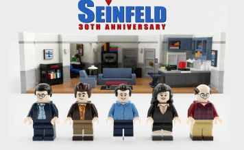 LEGO ideas ha anunciado que lanzará un set de conmemorativo por los 30 años de la serie de comedia Seinfeld diseñado por un fanático