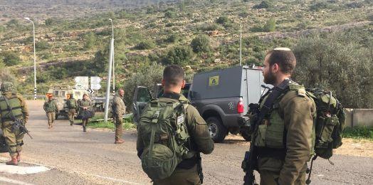 Disparan contra tropas del Ejército israelí en el norte de Judea y Samaria