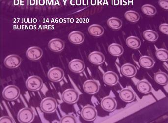 Seminario Internacional Intensivo de Idioma y Cultura Ídish en línea