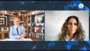Sharon Saga, Directora del museo Memoria y tolerancia, en entrevista con el periodista Joaquín López Doriga, presentó el programa de Promotores de la paz