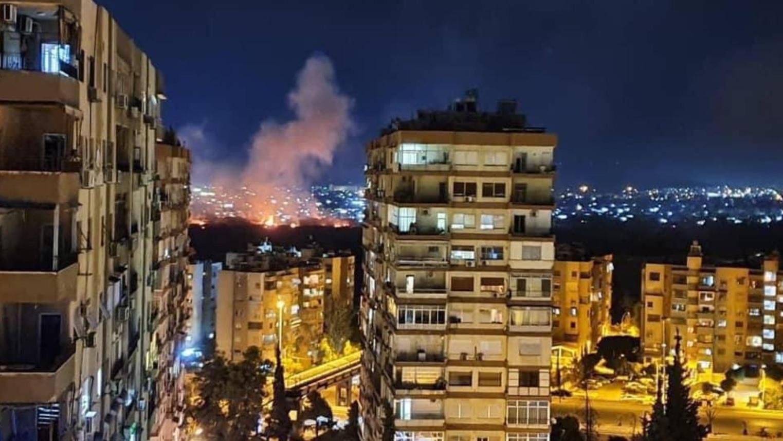 Reportan presunto ataque de Israel en el territorio de Siria