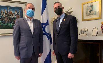 El embajador de Israel en México, Zvi Tal sostuvo un encuentro con el Alcalde del Cuajimalpa Adrian Rubalcava, donde trataron temas de cooperación