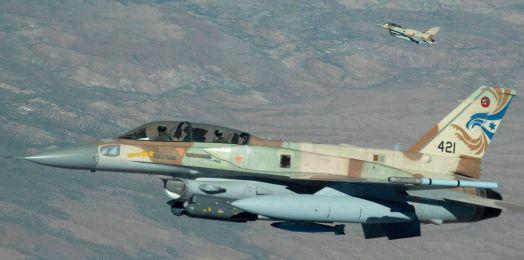 Israel lanza ataque aéreo contra sitios militares del régimen sirio