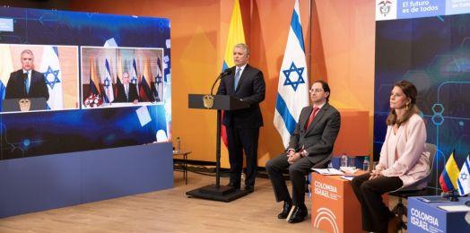 Colombia abrirá oficina de innovación en Jerusalén, promete Iván Duque